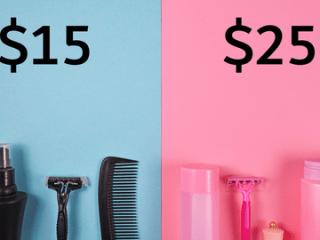Pink tax: perchè essere donne costa di più